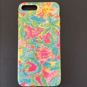 Lily Pulitzer iPhone 8plus phone case